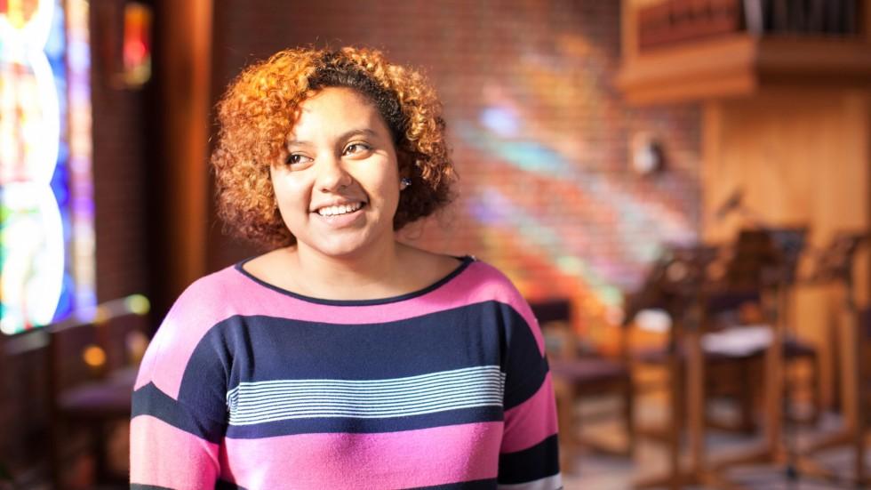 Keara Lavallee, 16岁,宗教研究与环境科学专业