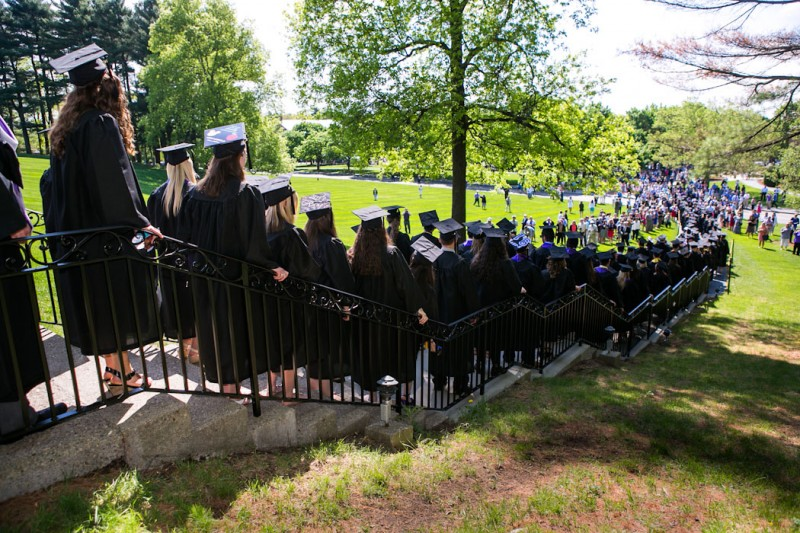 Commencement - The Quad