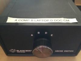 Input Switch Box Dial