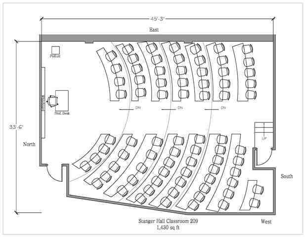 University Classroom Design Guidelines : Stonehill college floor plans images gartland