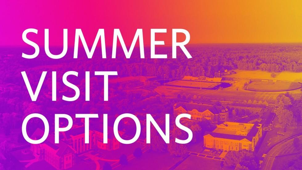 Summer Visit Options at Stonehill