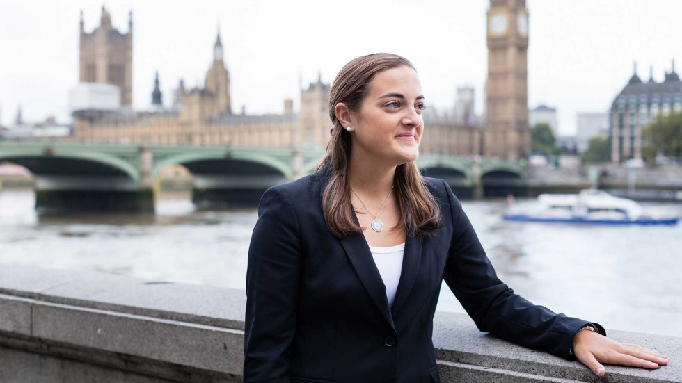 Alex Esposito, studying abroad at the London School of Economics