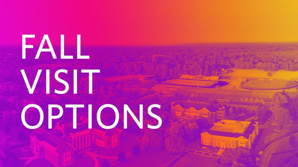 Fall Visit Options at Stonehill