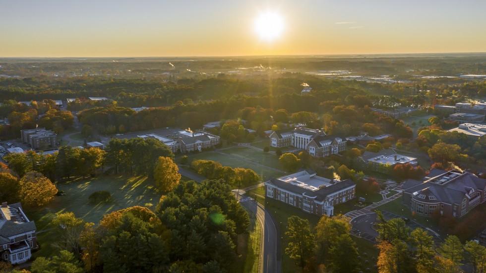 Stonehill College Aerial