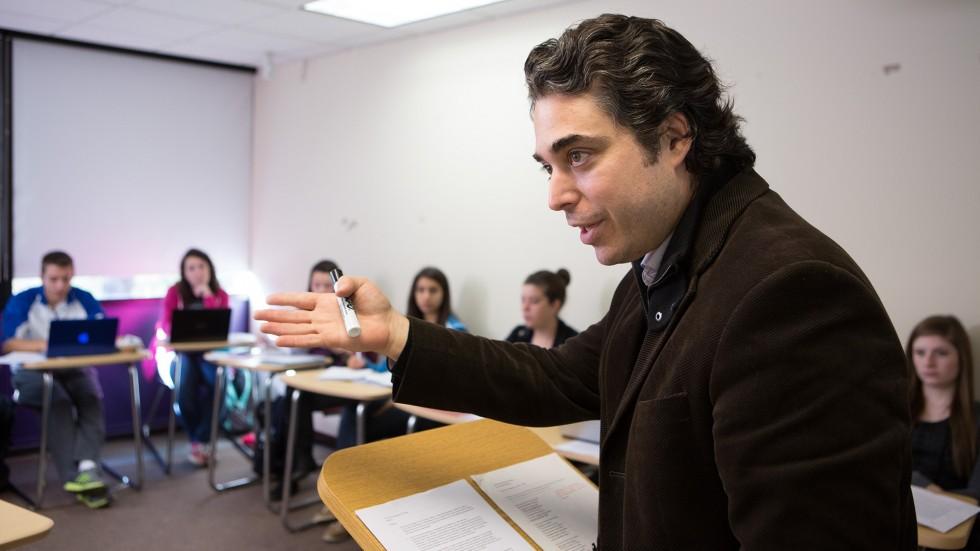 Photo of Jared Green teaching class