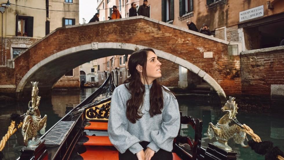 Marissa Bazzano in Venice, Italy