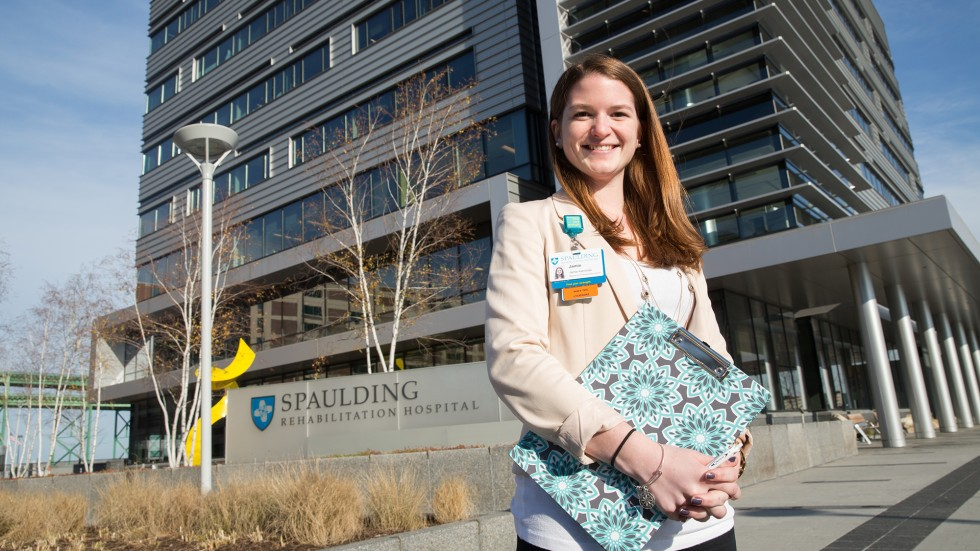 Jamie Kaminsky '15, clinical research monitor II at Dana-Farber Cancer Institute