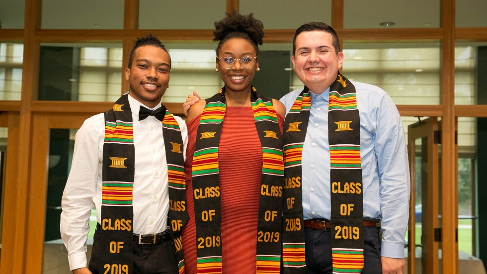 Students attend Kente and Rainbow Celebration