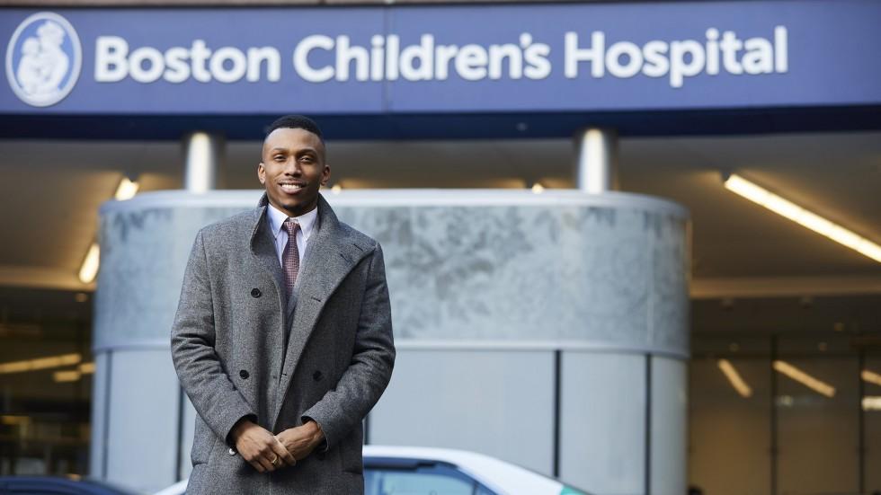 Zaire Reiph, Children's Hospital Boston