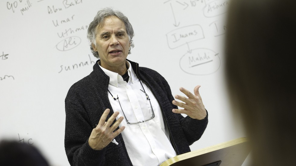 Greg Shaw, professor of Religious Studies