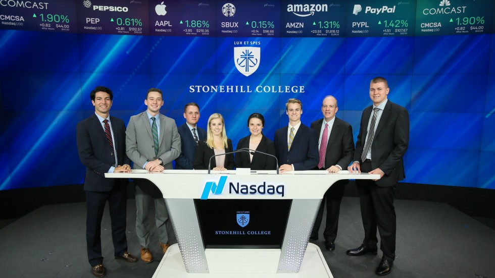SCIFI students visit Nasdaq