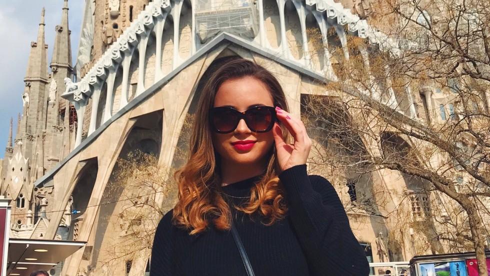 Tatiana Foersch studying abroad