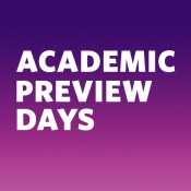 Callout: Summer Academic Preview Days
