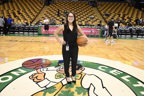 Leah Carter '18, NBC Sports