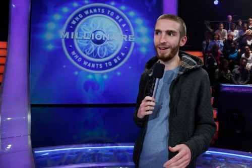 Mike Lemme '12, internship with Who Wants to Be a Millionaire