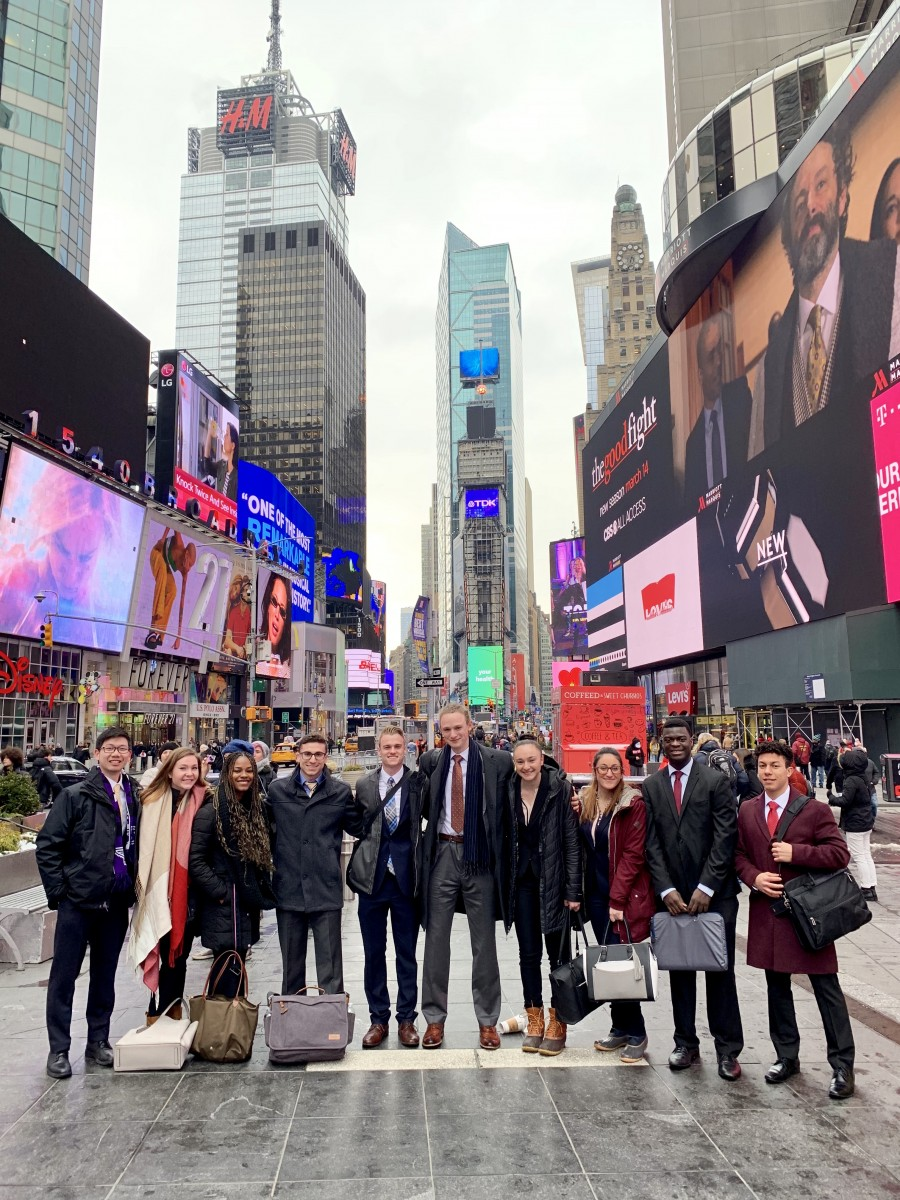 strong nyc internship program benefits stonehill students seeking coveted placements  u00b7 news