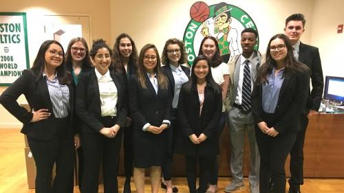 Students in the Boston Externship Program