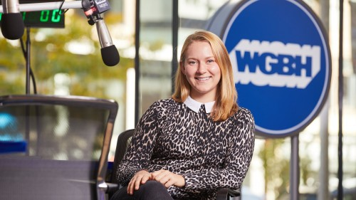 Photo of Emily Schario '18, associate producer at WGBH
