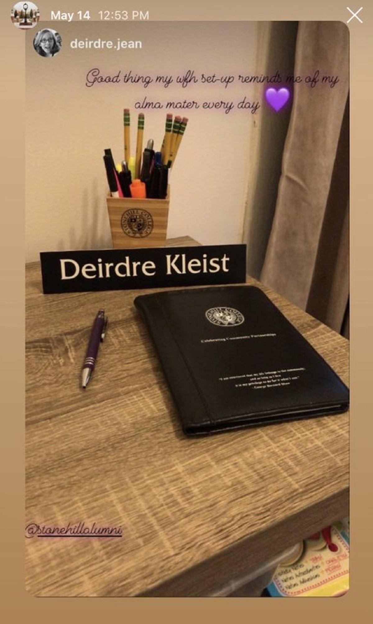 Dierdre Kleist, Class of 2012