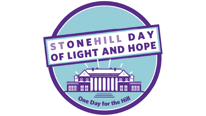Stonehill Day of Light and Hope logo One Day for the Hill May 13, 2021