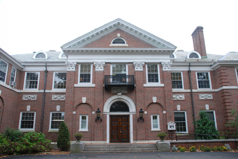 Donahue Hall Doors