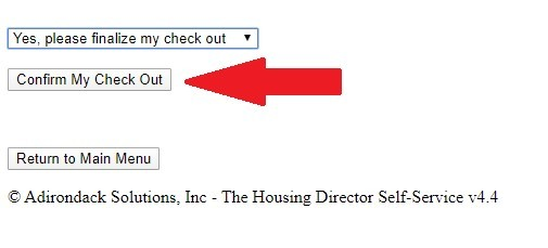 """Click """"Confirm My Checkout"""""""