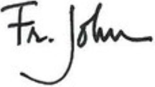 Fr. John signature