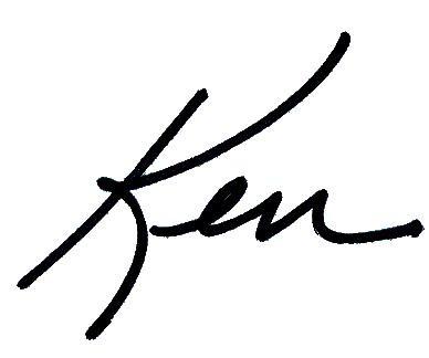 Ken Michel signature