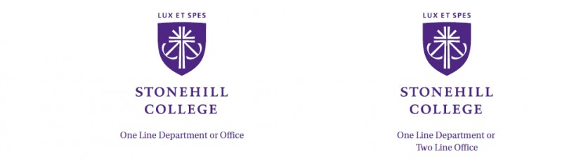 Departmental Logos · Stonehill College