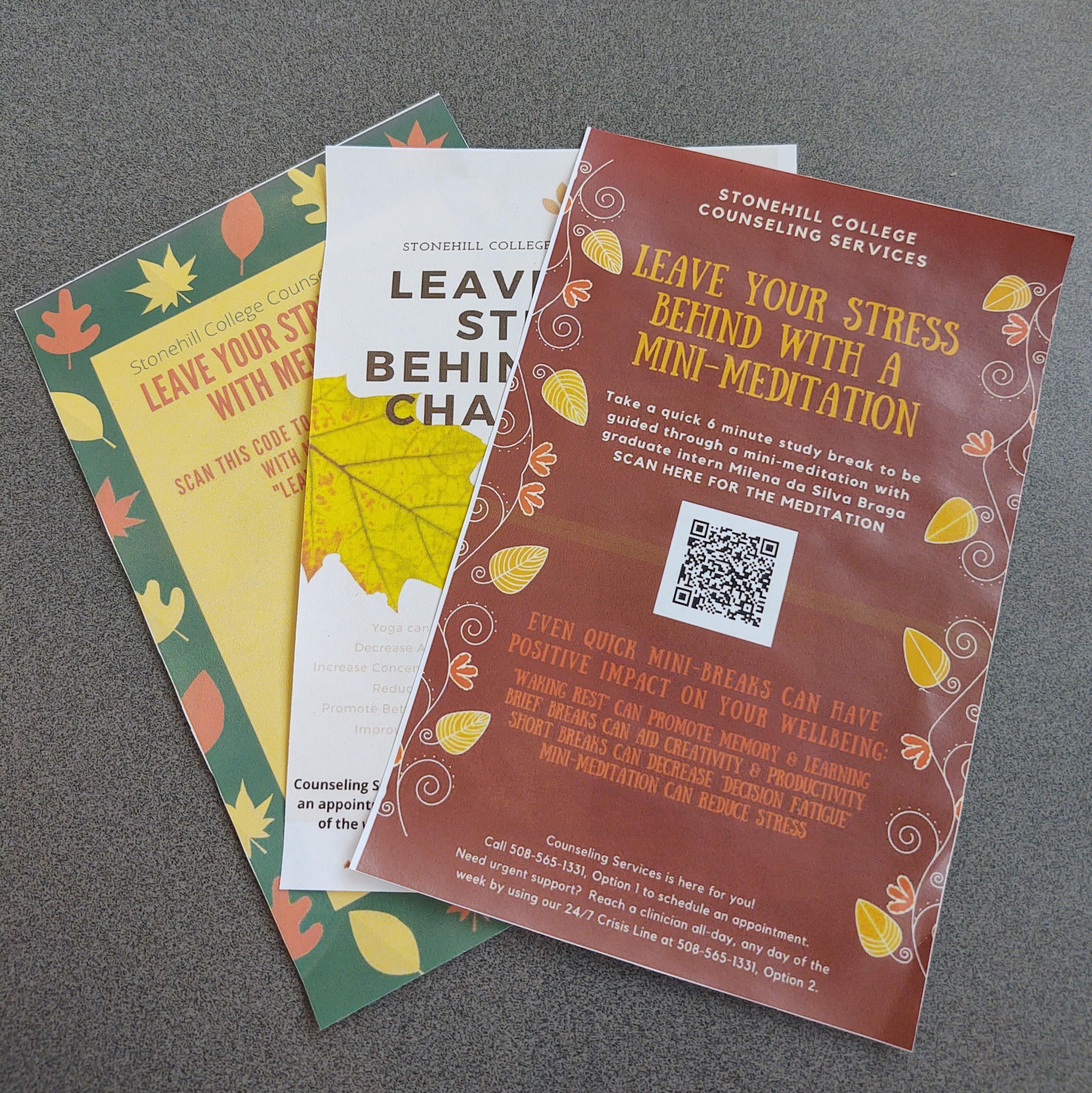 QR Code leaflets