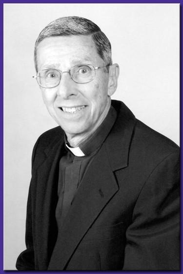 Stonehill's sixth president, (Rev.) Ernest Bartell, C.S.C.