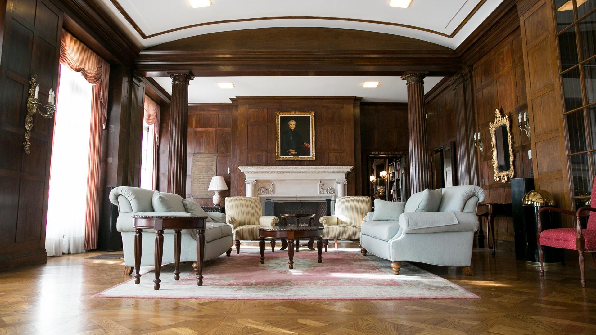 Herlihy Lounge Donahue Hall